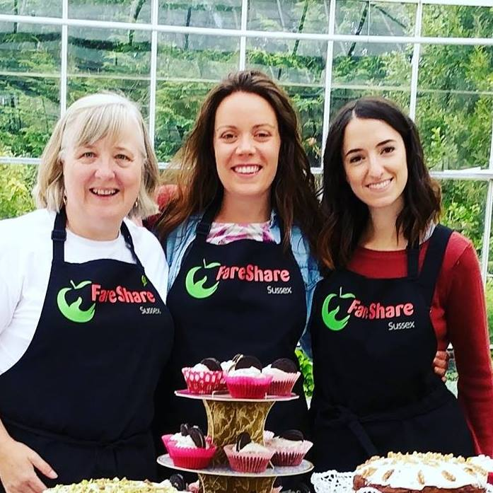 Fareshare at Barcombe Nurseries