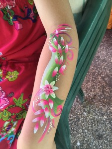 Arm painting